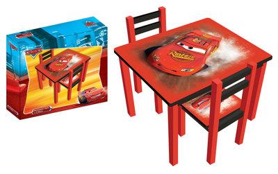 Kindertafel En Stoeltjes Cars.Kindertafel Met 2 Stoeltjes Cars